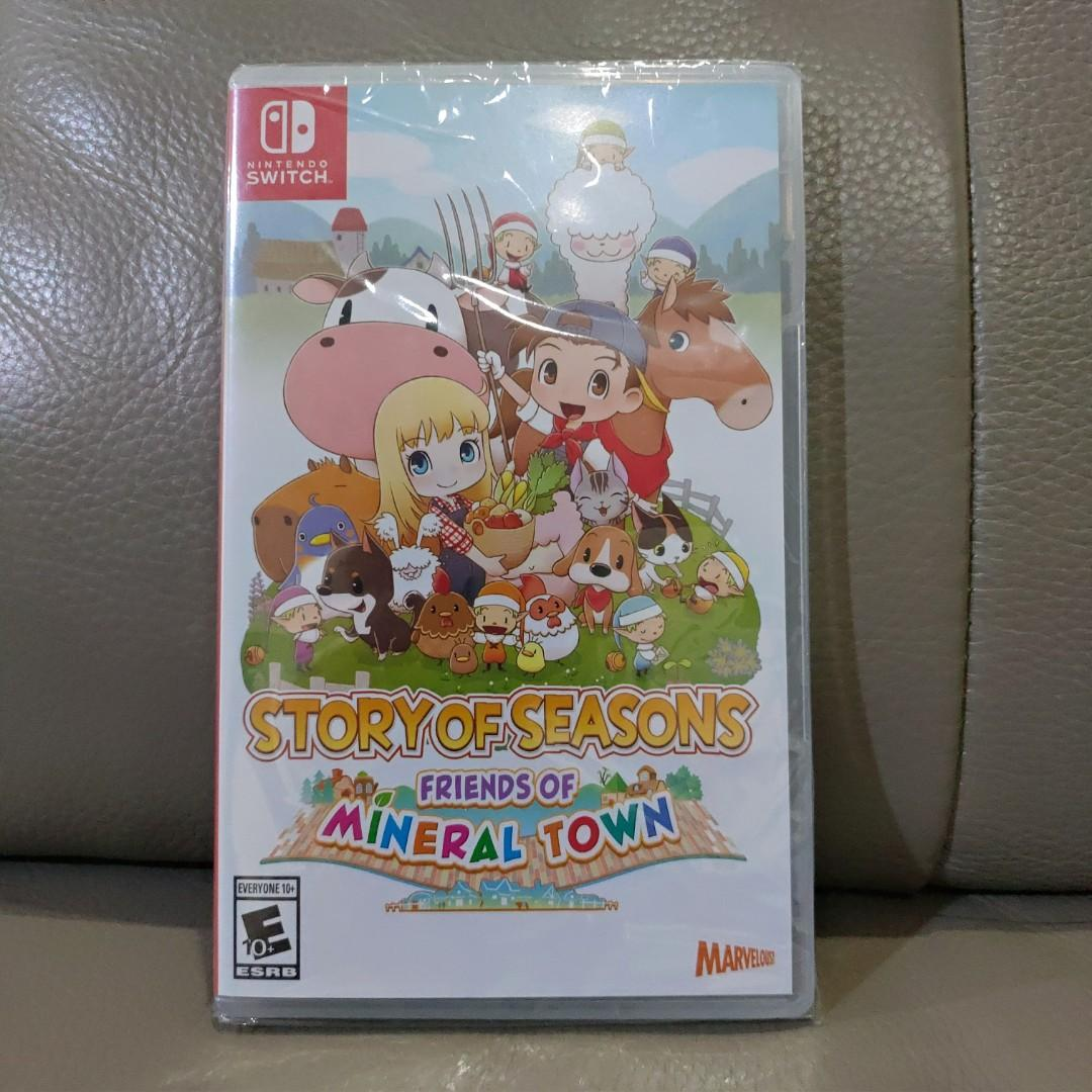 Story of Seasons Friends of Mineral Town Nintendo Switch Friend