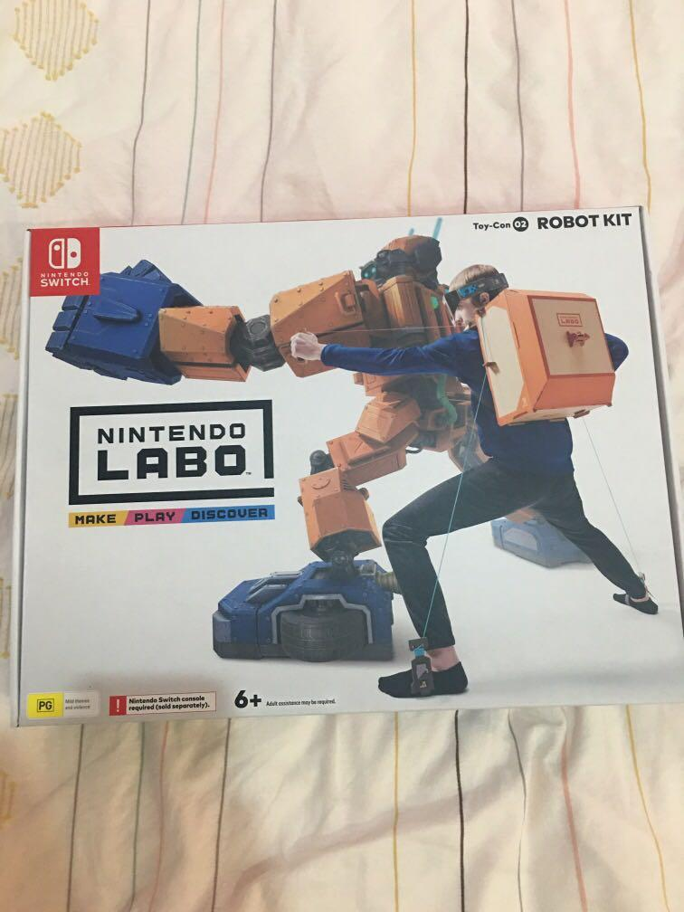 Switch Toy-Con 2 ROBOT KIT (遊戲)