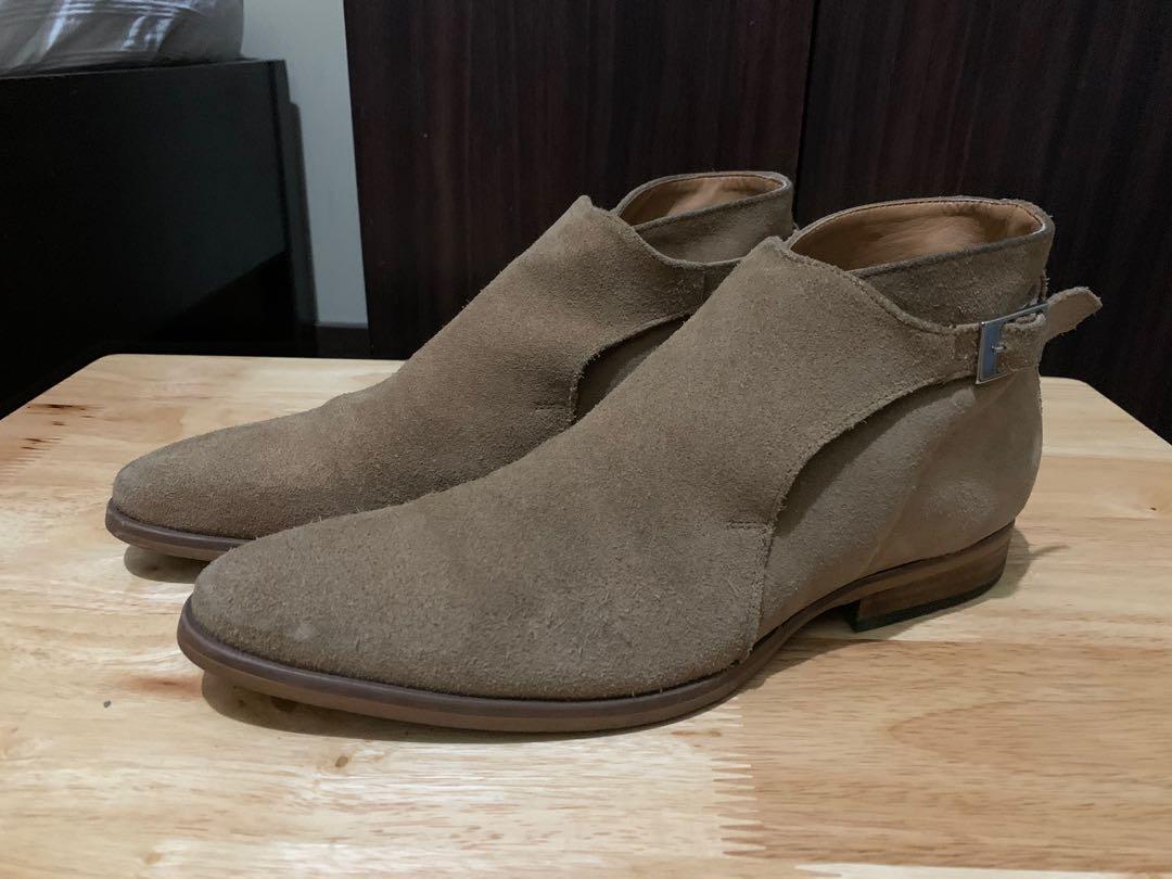 Zara Men Suede Chelsea Boots, Men's