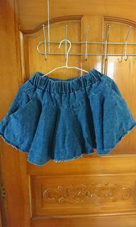 牛仔褲裙2件