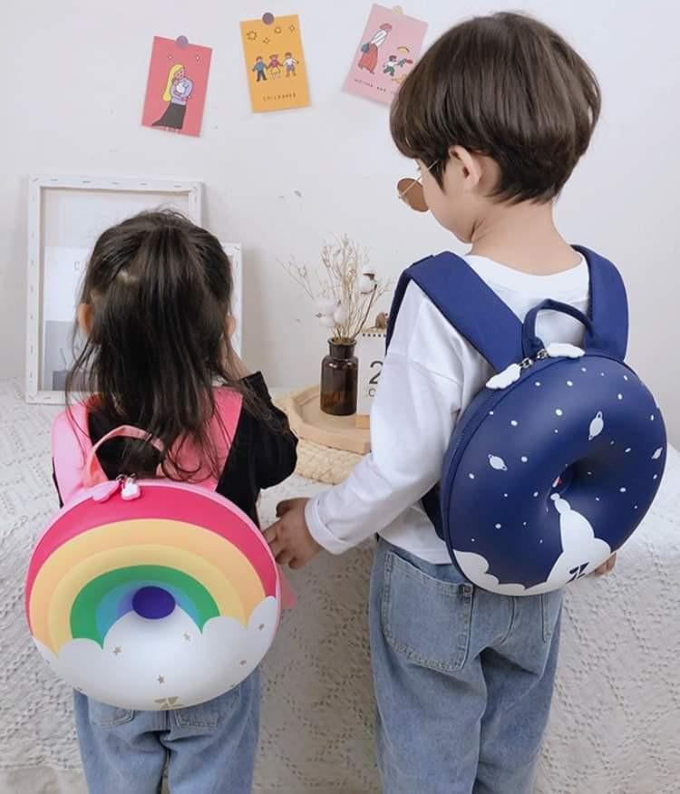 【預購】兒童甜甜圈揹包