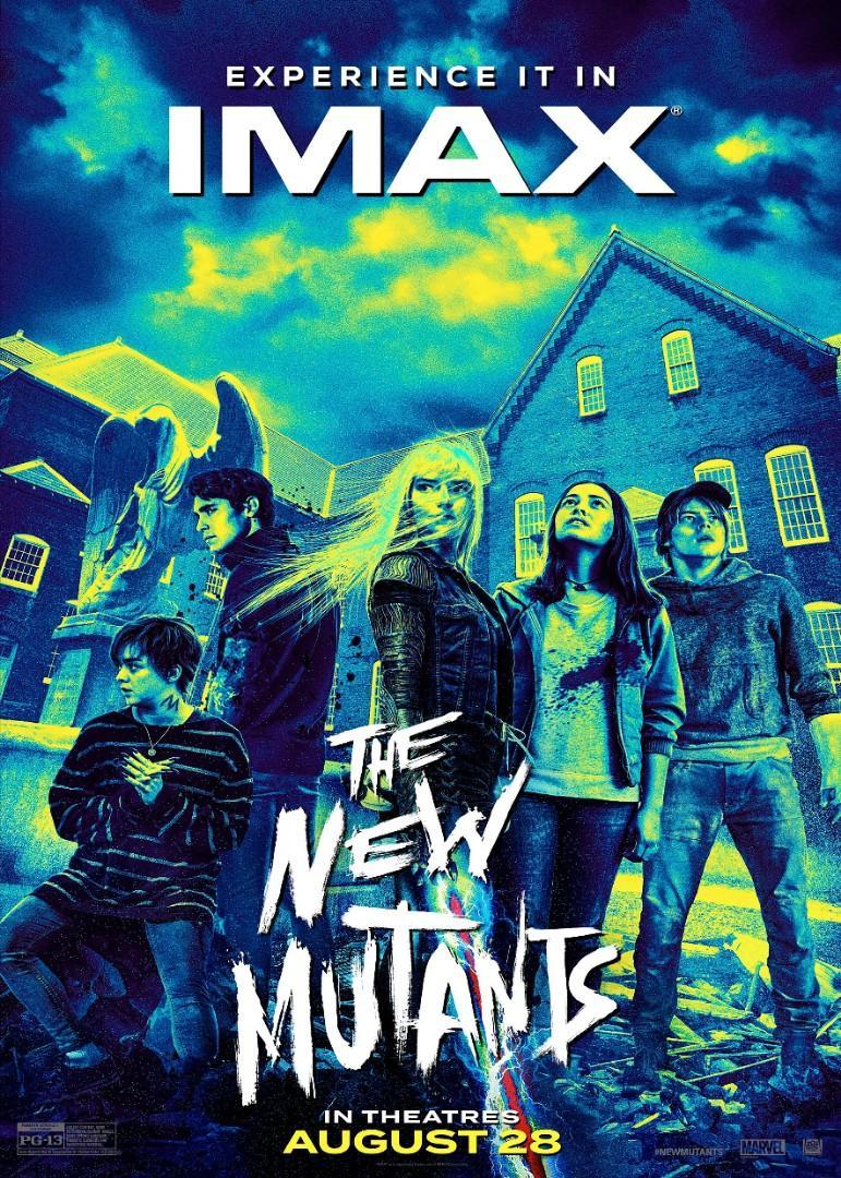 (電影海報)變種人 2020 Muntants X戰警 福斯 索尼 好萊塢 金鋼狼 漫威 Marvel 迪士尼 #HBB