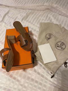 全新 愛馬仕 Hermes Oasis 涼鞋 37號