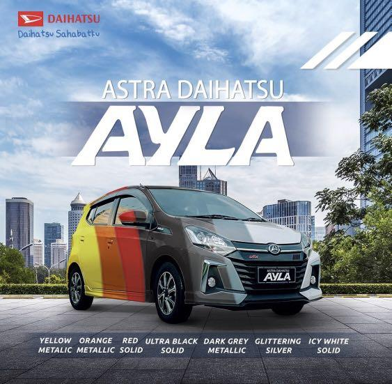 ANGSURAN MURAH Daihatsu Ayla mulai 2,5 jutaan. Daihatsu Fatmawati