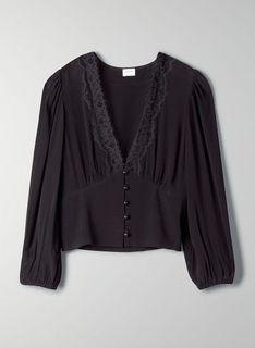 Aritzia romance me blouse xxs