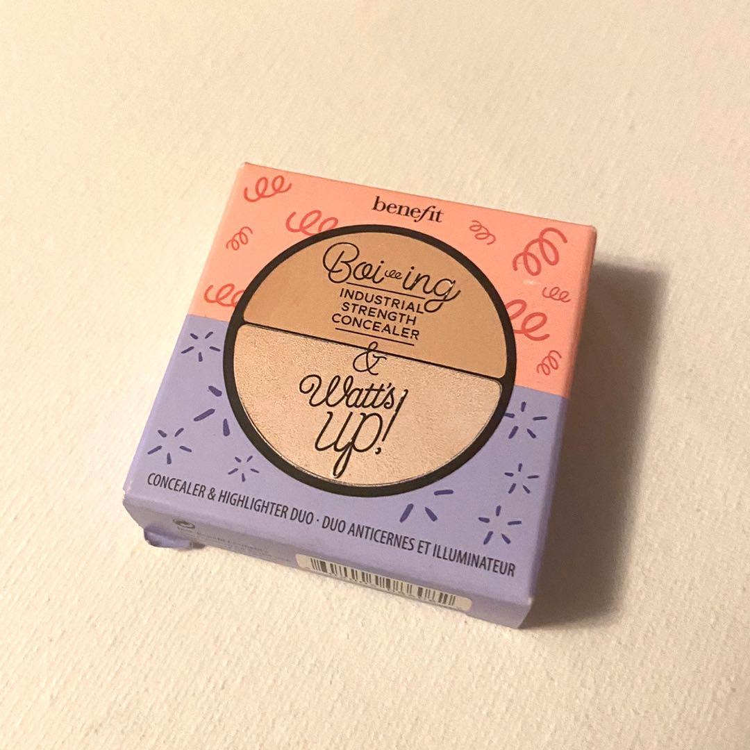 Benefit Boi ing Concealer and Watt's Up Highlighter Duo