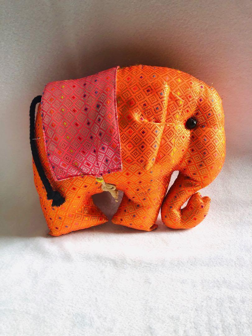 Boneka Gajah Thailand Handmade