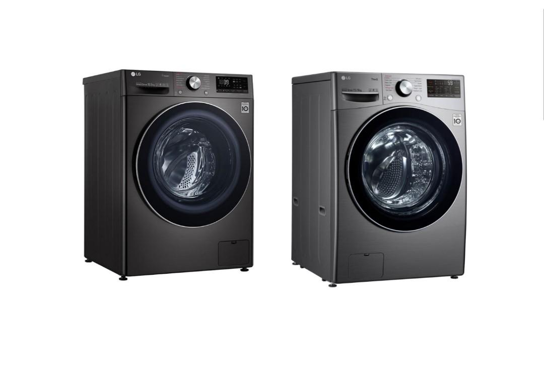 Brand New Lg Fv1450h1b 10 5kg 7kg F2515rtgv 15kg 8kg Inverter Front Load Washer Dryer Home Furniture Home Appliances Washing Machines And Dryers On Carousell
