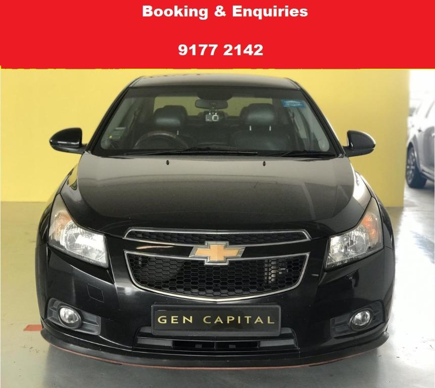 Chevrolet Cruze. CHEAP,BUDGET, CAR . $500 deposit only. Whatsapp 9177 2142 to reserve.