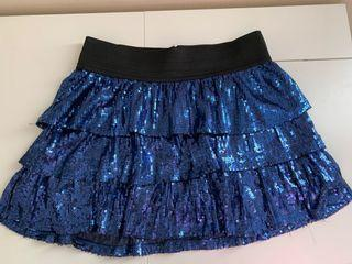 Children's Place Sparkly Skirt in Blue