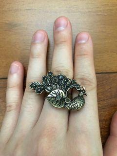 Costume Jewelry - Peacock Ring