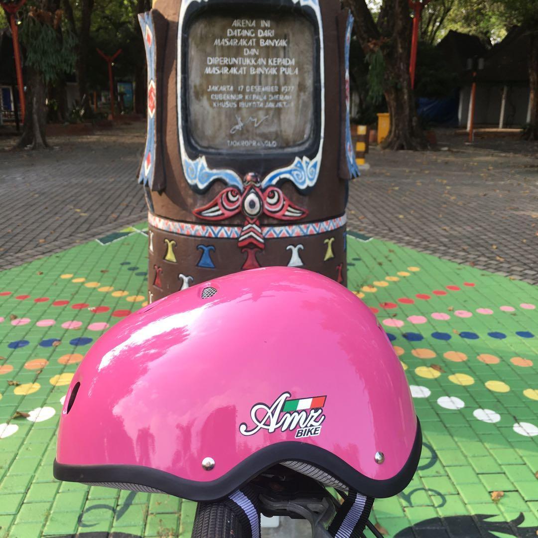 helm sepeda Amz #agustus2020