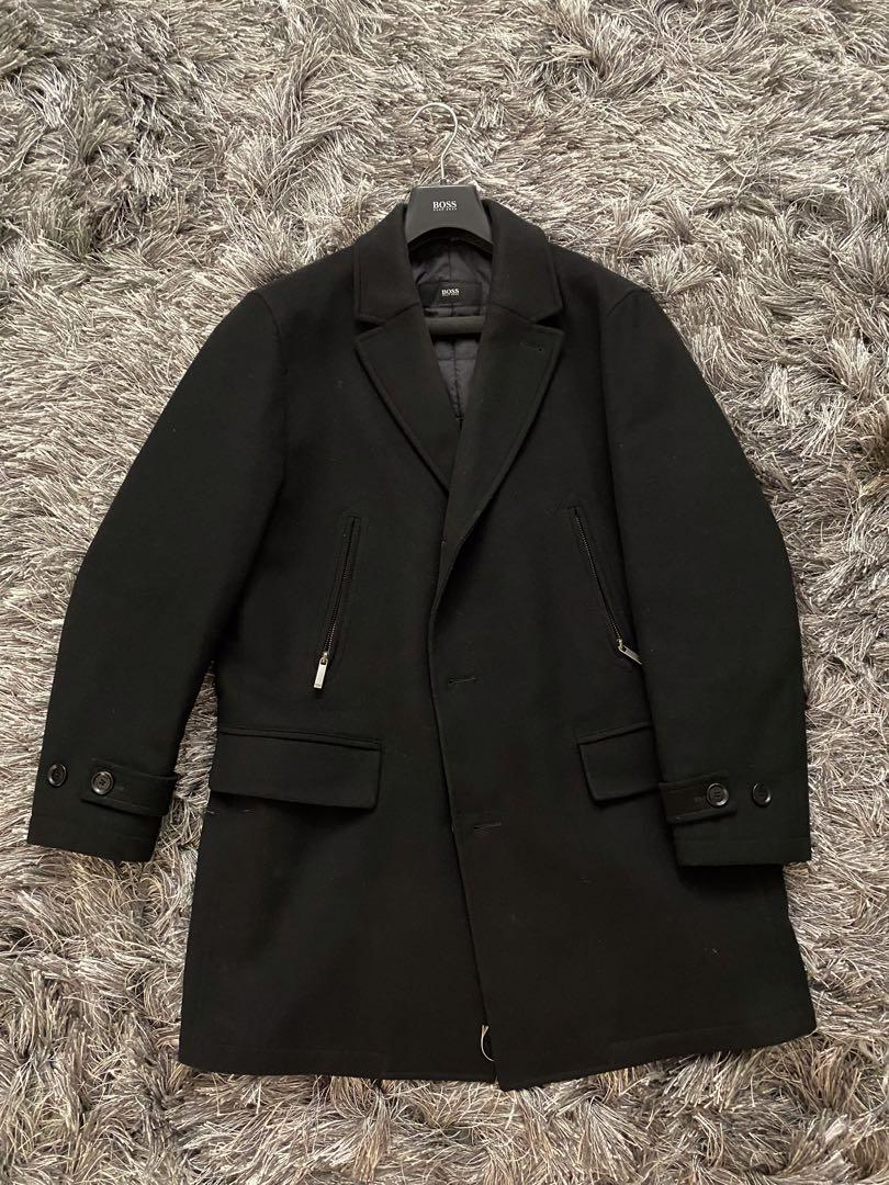 Hugo boss long coat