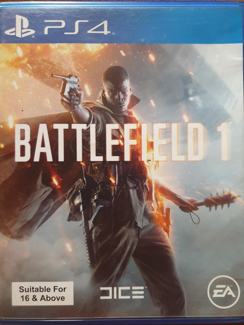 Kaset ps4 Battlefield 1