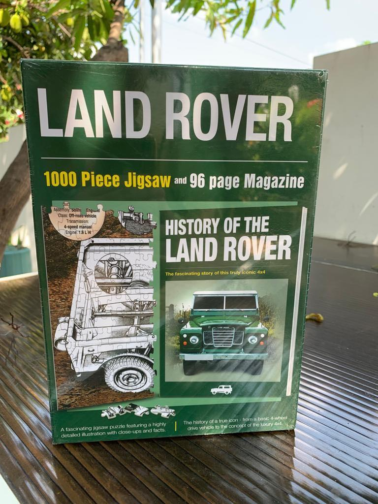 Land Rover Jigsaw Puzzle *Brand New*