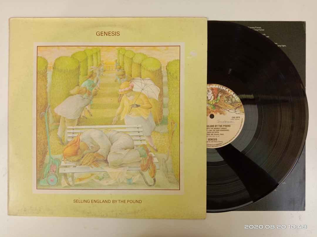 LP Genesis - Selling England by the Pound #FreeShip, Music & Media, CD's, DVD's, & Other Media on Carousell