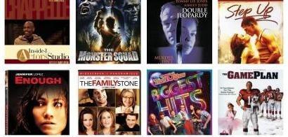 Mixed Movie DVD's