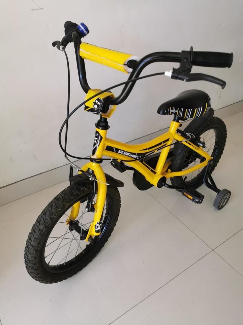 Sepeda anak Bad Badtz Maru