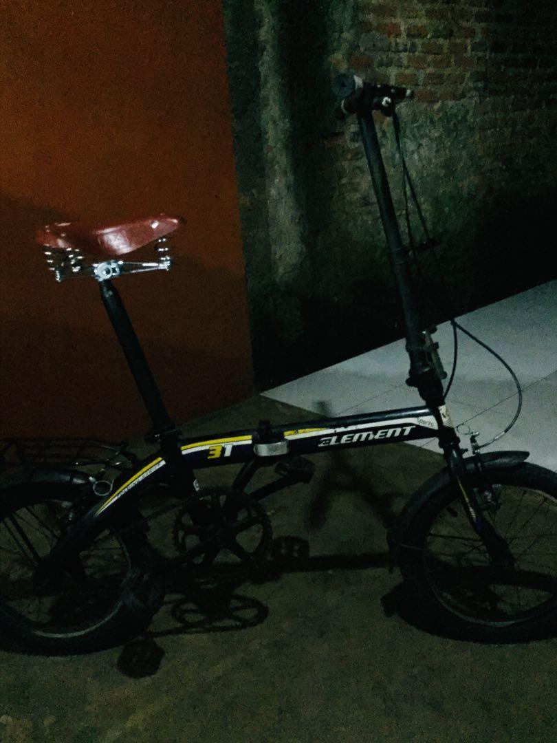 Sepeda Lipat Element Single speed