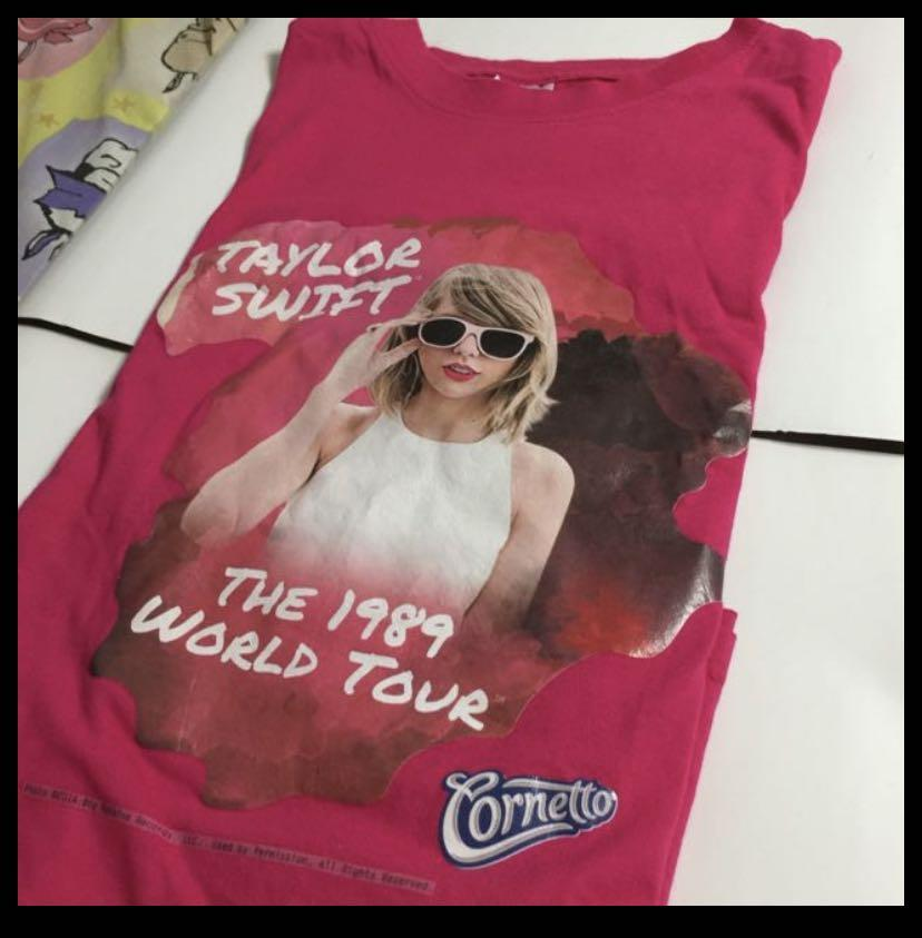 Taylor Swift T Shirt Pen Cards Postcards Entertainment Events Concerts On Carousell