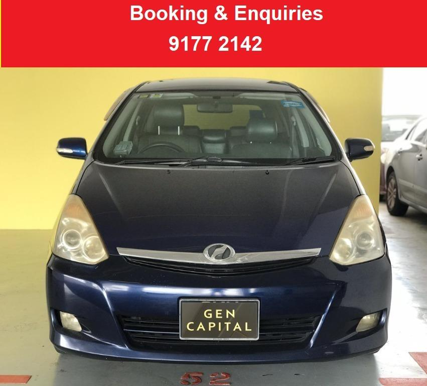 Toyota Wish. CHEAP CAR . $500 deposit only. Whatsapp 9177 2142 to reserve.