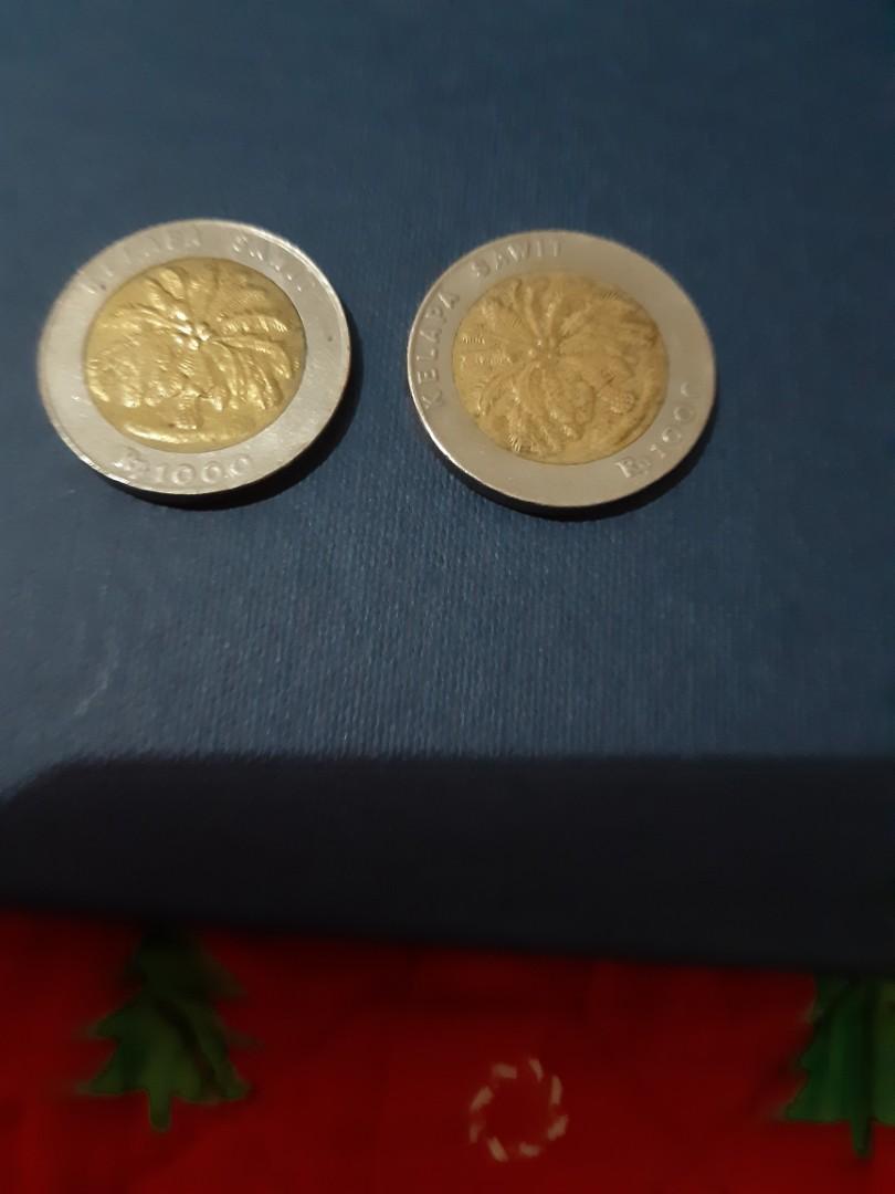 Uang Koin Lama pohon sawit