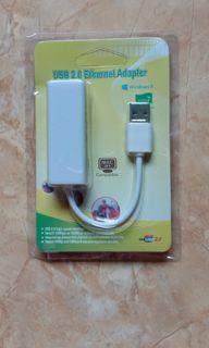 USB ethernet LAN adapter