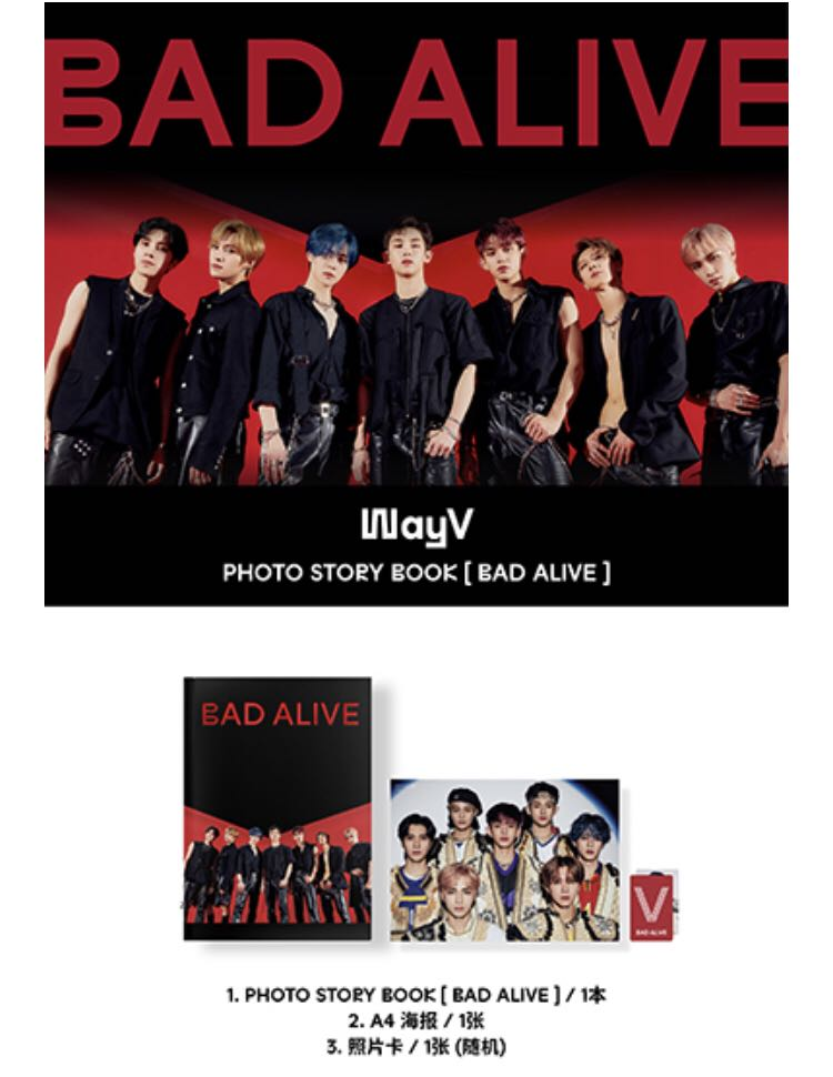 Wayv Bad Alive Photobook K Wave On Carousell