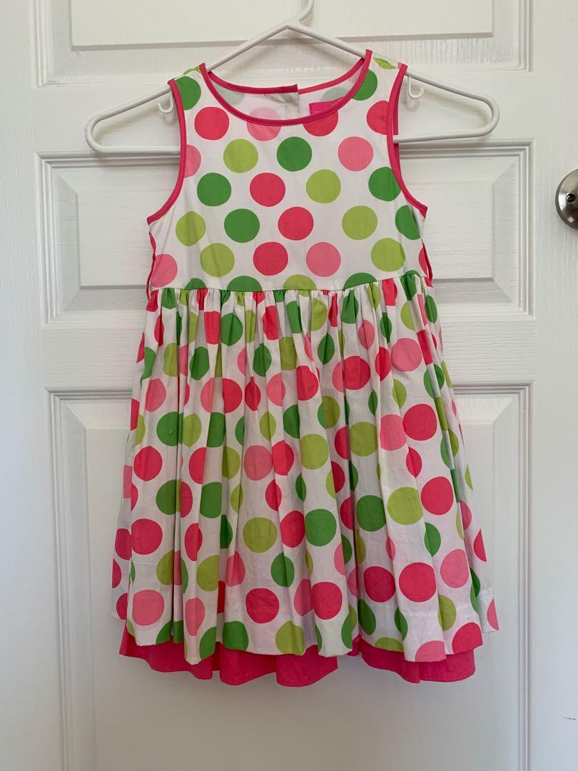 Willi Smith Girl's Polka Dot Dress