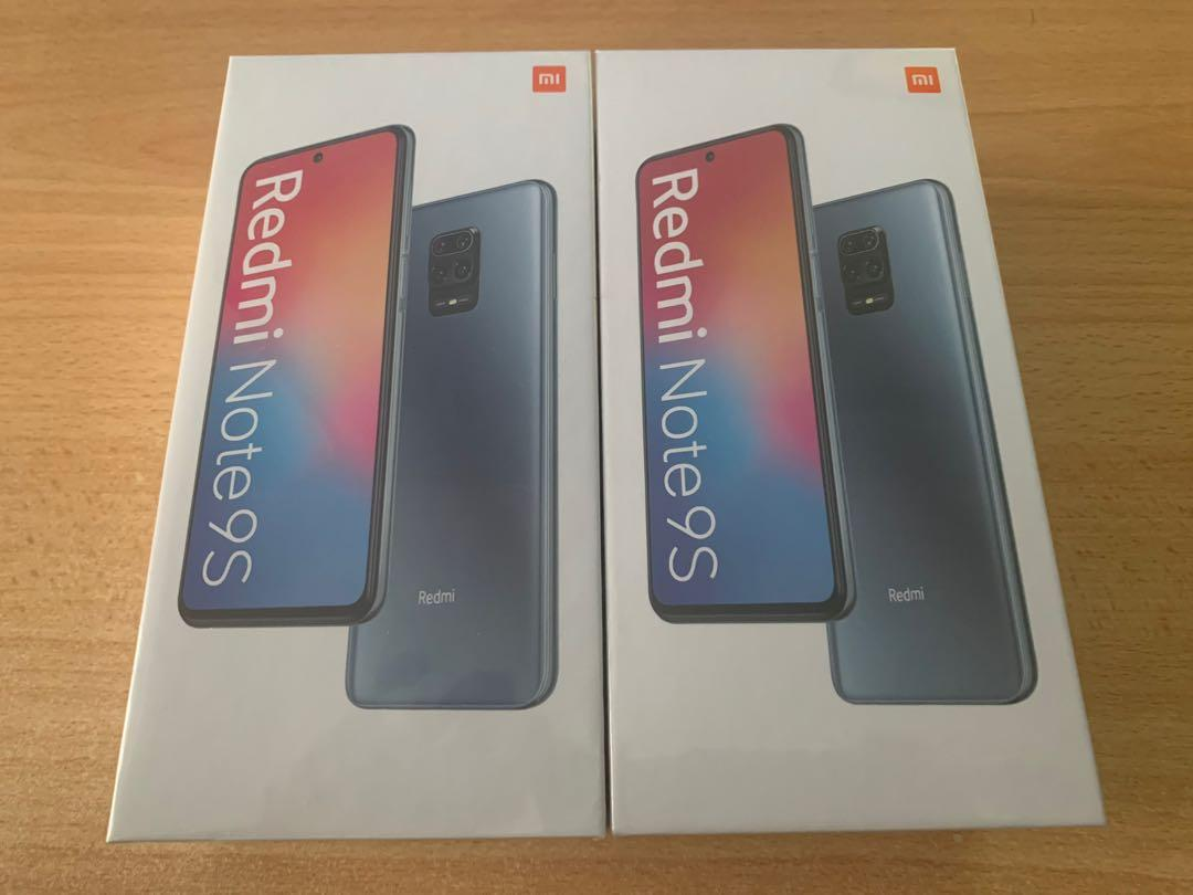 4gb/64gb redmi note 9s