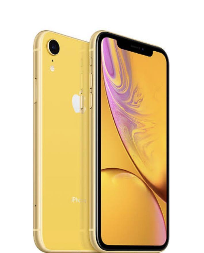 Yellow iPhone XR 64gb