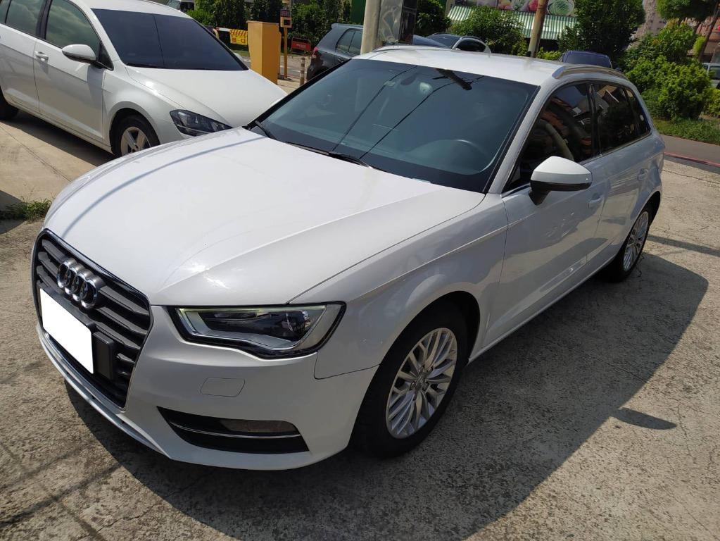 2014年Audi奧迪A3 3.0 TFSI 白色