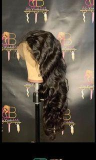 26 inch full lace frontal silk base 150%