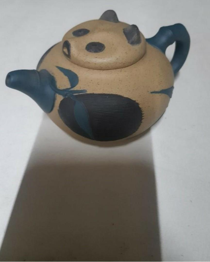 早期貓熊壺