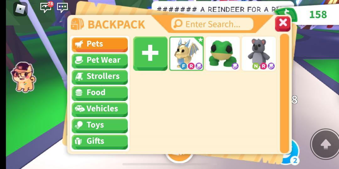 Adopt Me Pets Trading For Neon Parrot Toys Games Video Gaming Video Games On Carousell