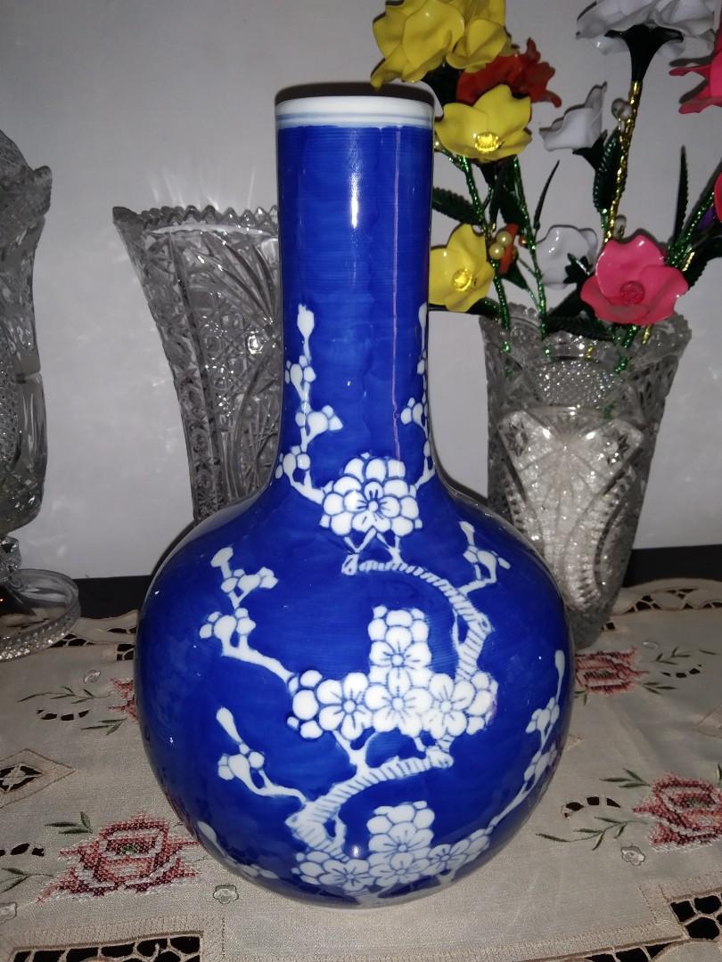 #agustus2020 guci keramik biru china