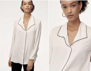 Aritzia Babaton Rena Shirt NWT