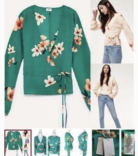 Aritzia Lilia blouse NWT