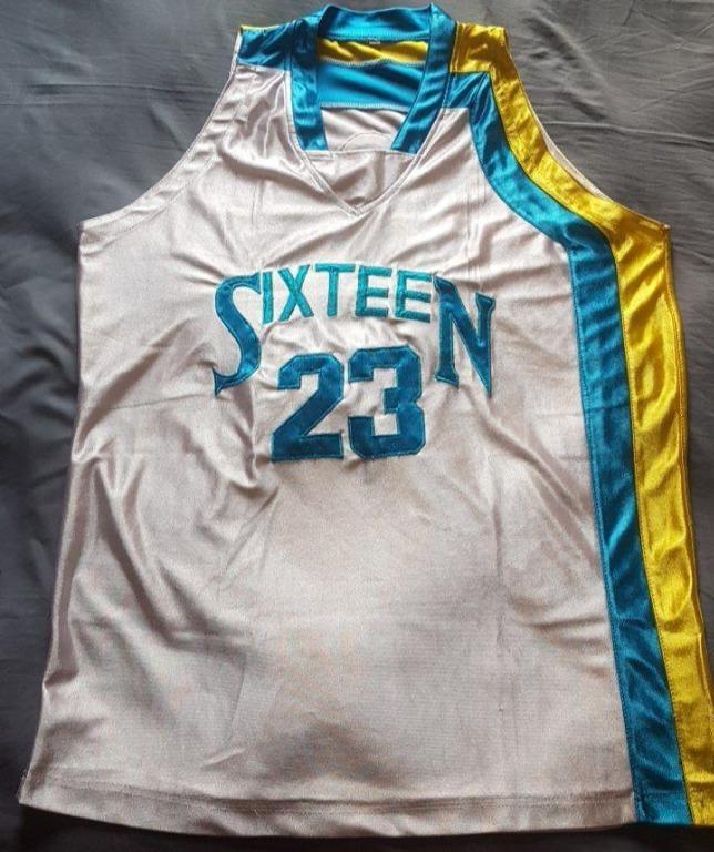Basketball Jersey kaos baju basket gym training size XL fit M dan L