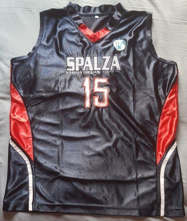 Basketball Jersey kaos baju basket player issue size L fit M UpTo XL