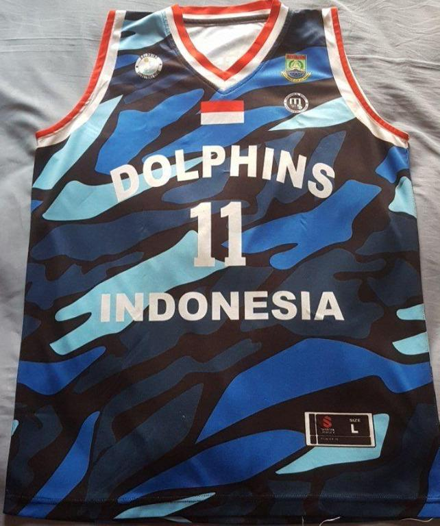 Basketball Jersey kaos baju basket player issue + celana size L fit M UpTo XL