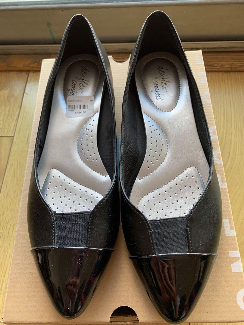 Black flats- Size 10