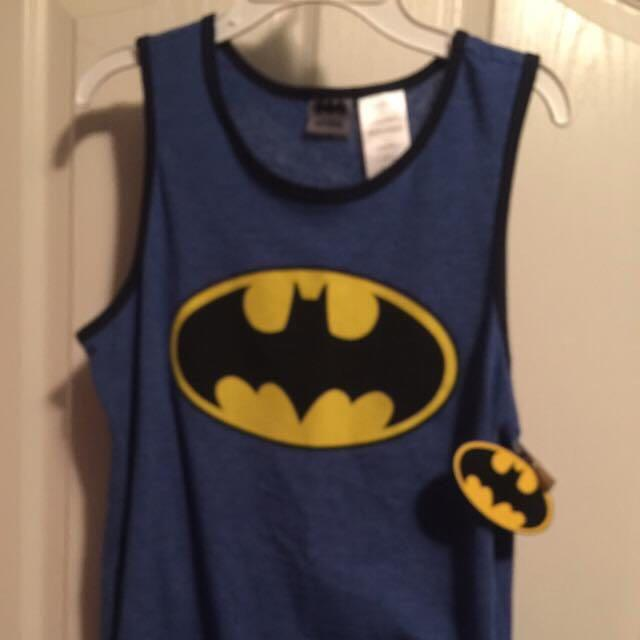 Boys Batman tank