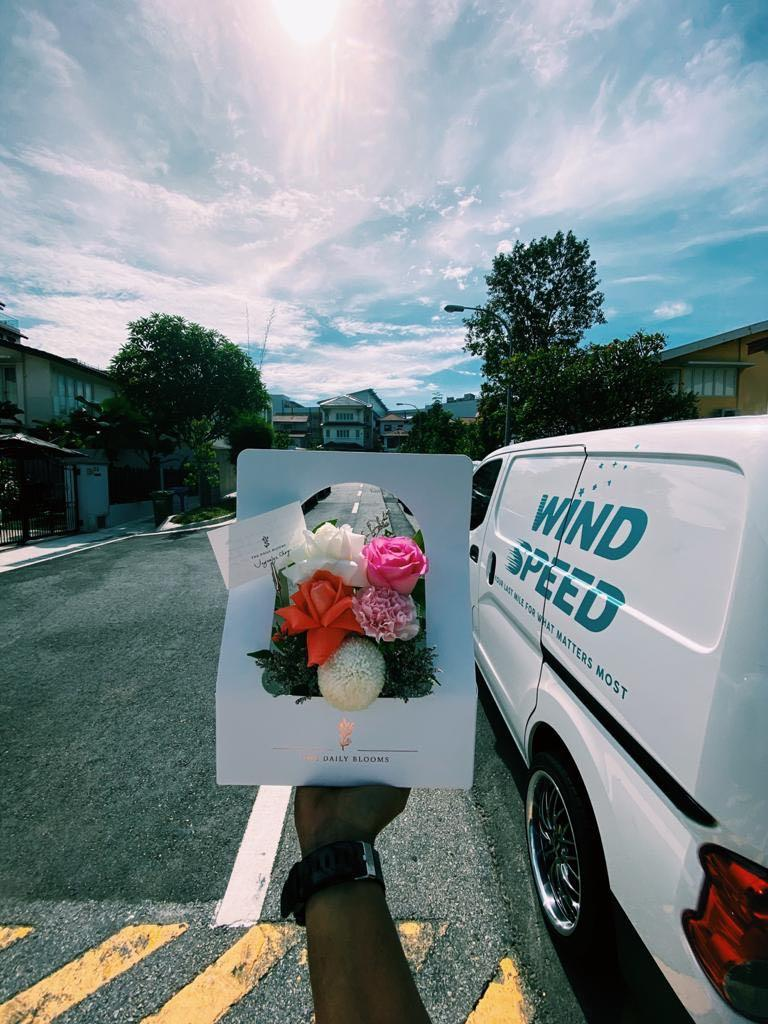 Delivery driver for flowers & perishable