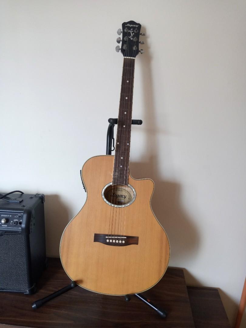Gitar akustik elektrik legacy MJG-616CEQ