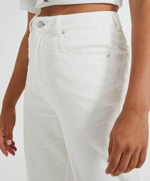 Insight white cord pants