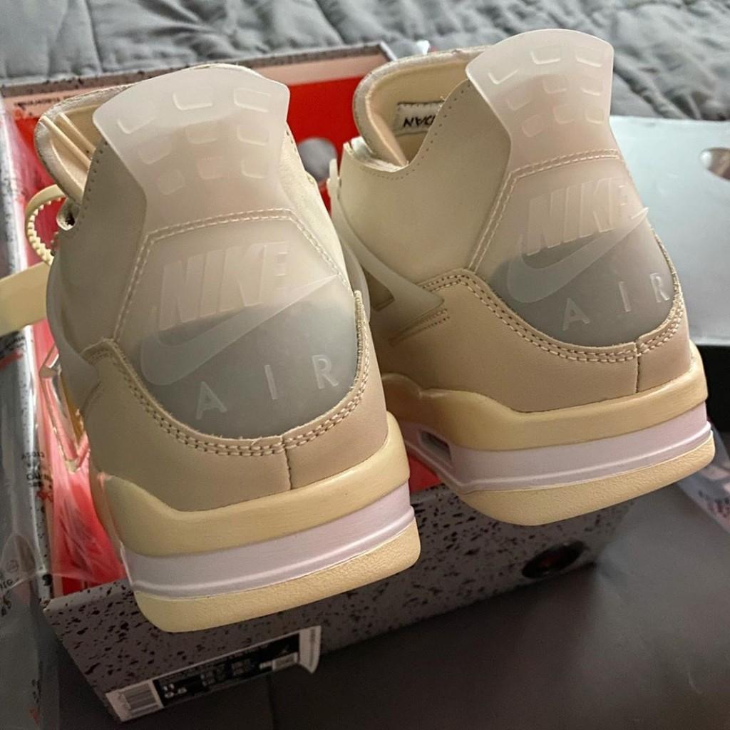 Jordan off white 4s