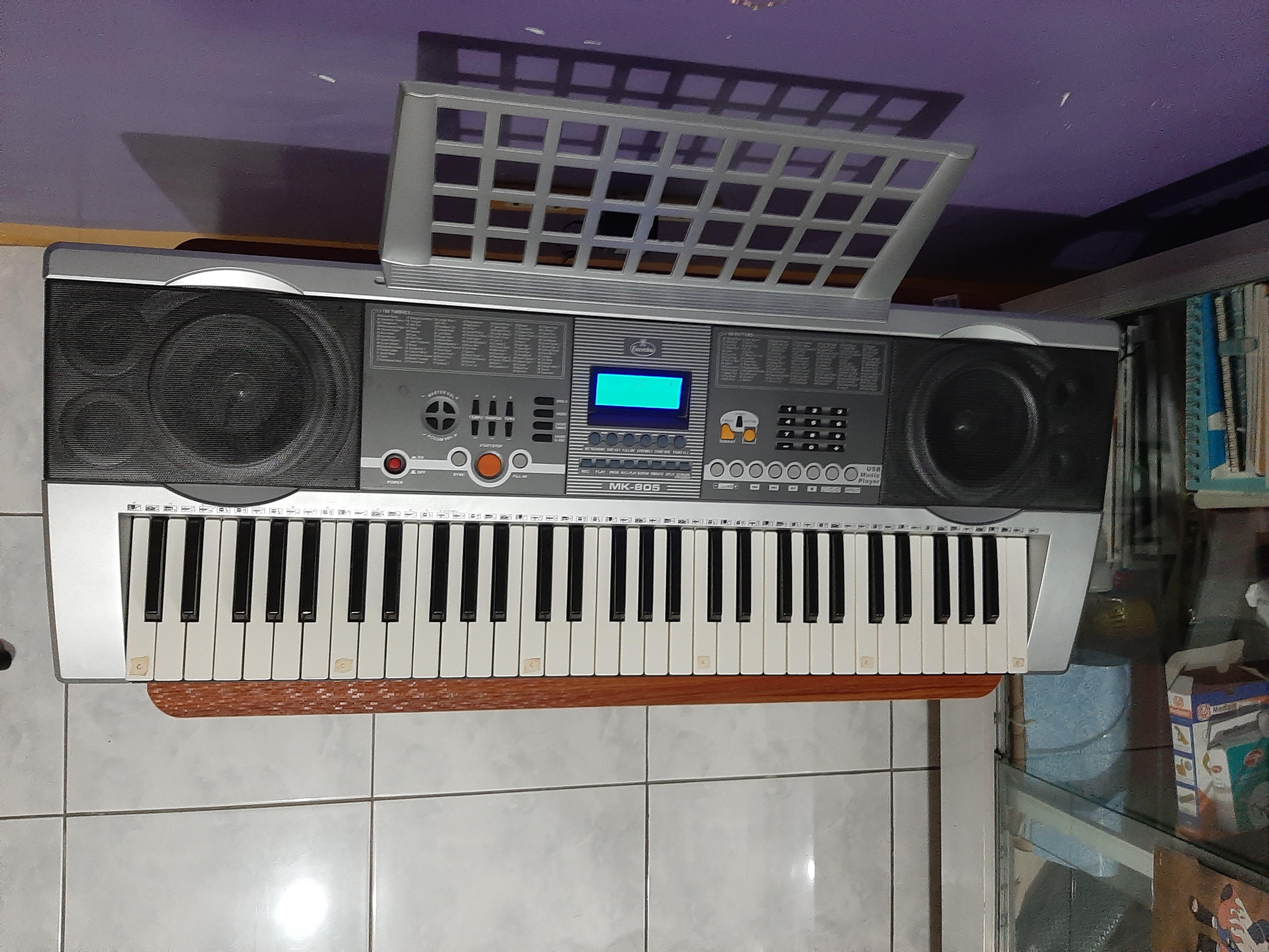 Lyric 61-Keys Electronic Piano Keyboard