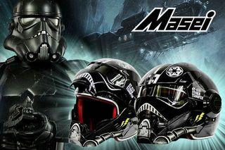 Masei 頭盔 610 Star Wars Black Stormtrooper