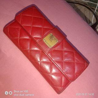 MCM Quilted Wallet